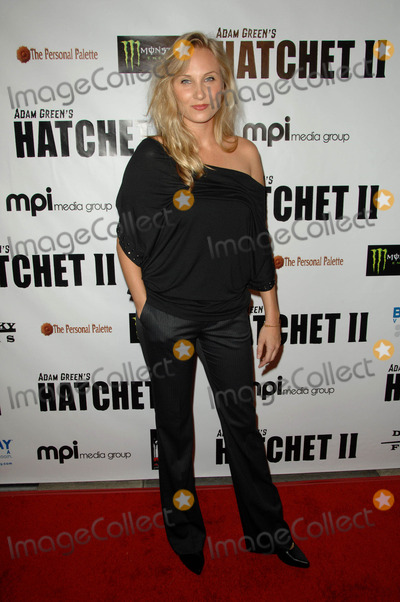 Alexis Peters Photo - Alexis Peters attending the Los Angeles Premiere of Hatchet Ii Held at the Egyptian Theatre in Hollywood California on September 28 2010 Photo by D Long- Globe Photos Inc 2010