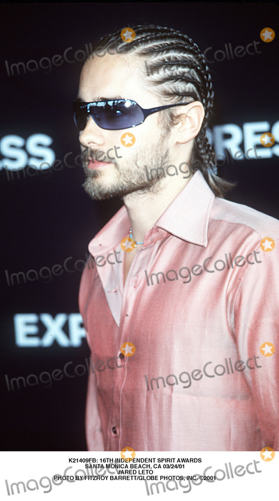 Jared Leto Photo -  16th Independent Spirit Awards Santa Monica Beach CA 032401 Jared Leto Photo by Fitzroy BarrettGlobe Photos Inc