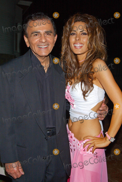 Casey Kasem Photo - Sitv Network Celebrates the Birthday of Tv and Radio Personality Kerri Kasem at Brasserie Les Voyous Hollywood CA 07212004 Photo by Miranda ShenGlobe Photos Inc 2004 Casey Kasem and Daughter Kerri Kasem