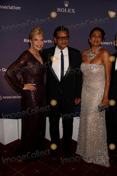 Naeem Khan Photo - Princess Yasmin Aga Khannaeem Khan Ranjana Khan at Alzheimers Association Rita Hayworth Gala at Waldorf Astoria Hotel 10-26-10 Photo by John BarrettGlobe Photos Inc2010