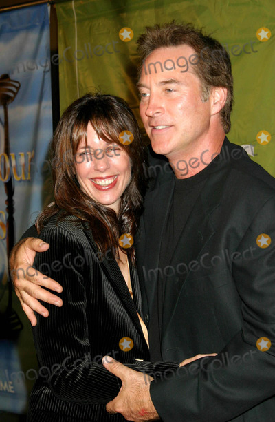 Drake Hogestyn Photo - Days of Our Lives - Halloween Screening at the Arclights Cinerama Dome Hollywood CA 10282003 Photo by Ed Geller  Egi  Globe Photos Inc 2003 Drake Hogestyn and His Wife
