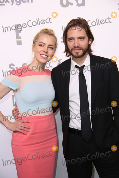 Aaron Stanford Photo - NBC Universal Cable Entertainment Upfront Celebration Javits Center North Hall NYC May 14 2015 NYC Photos by Sonia Moskowitz Globe Photos Inc 2015 Amanda Schull Aaron Stanford