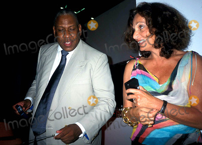 Andre Talley Photo - Andre Leon Talley and Diane Von Furstenberg K30951rhart Andre Leon Talleys Dinner Party at Diane Von Furstenberg Studio in New York City 612003 Photo Byrose HartmanGlobe Photos Inc