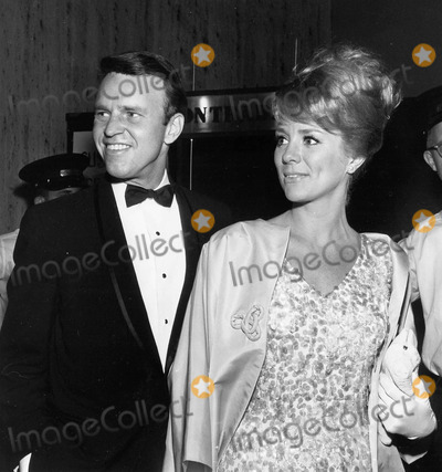 Inger Stevens Photo - Inger Stevens with George Furth at thalianssupplied by Globe Photos Inc