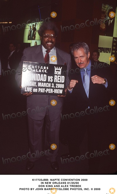 Alex Trebek Photo - Alex Trebek Don King