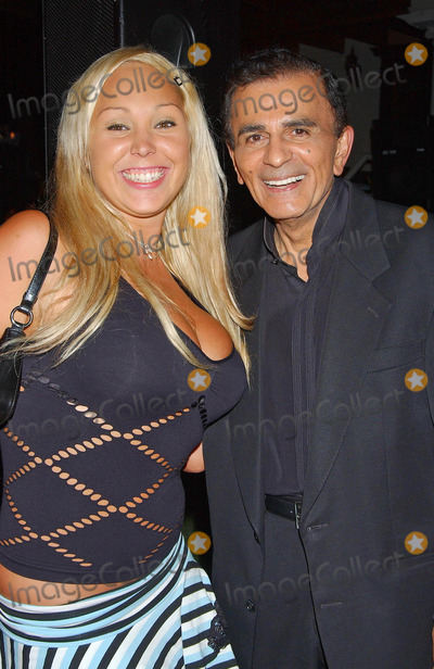Casey Kasem Photo - Sitv Network Celebrates the Birthday of Tv and Radio Personality Kerri Kasem at Brasserie Les Voyous Hollywood CA 07212004 Photo by Miranda ShenGlobe Photos Inc 2004 Mary Carey and Casey Kasem
