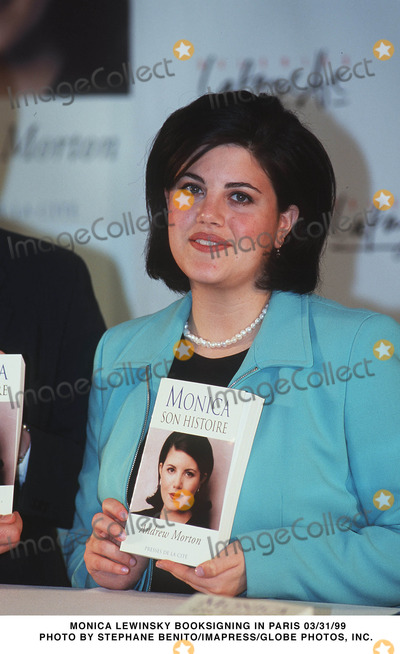 Monica Lewinsky Photo - Imapress  Stphane Benito Monica Lewinsky Ddicace Son Livre Paris Le 3103