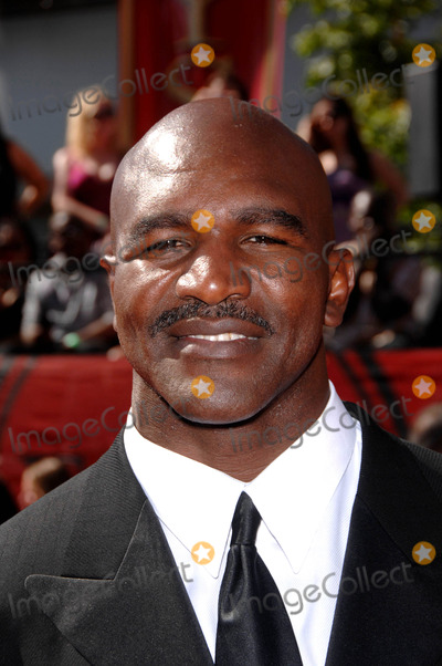 EVANDER HOLLYFIELD Photo - Evander Hollyfield During the 17th Annual Espy Awards Held at the Nokia Theater on July 15 2009 in Los Angeles Photo Michael Germana - Globe Photos Inc