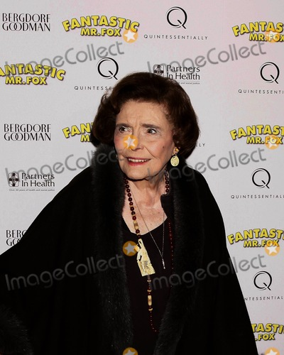 Fantastic Mr Fox Photo - Patricia Neal attends Premiere of Movie Fantastic Mr Fox Presented by Fox Searchlight Pictures at Bergdorf Goodman the Mens Store NYC 11-10-2009 Photo Credit Anthony G MooreGlobe Photos