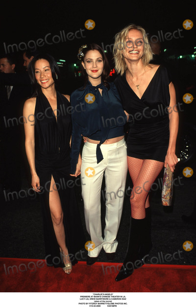 Cameron Diaz Photo - charlies Angels Premiere at Manns Chinese Theater in LA Lucy Liu Drew Barrymore  Cameron Diaz (Stars of the Movie) Photo by Fitzroy BarrettGlobe Photos Inc 10-22-2000