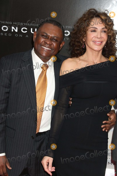 Bennet Omalu Photo - Bennet Omalu (Will Smith Plays Him in the Movie)giannina Scott Producer at Screening Ofconcussion at Amc Loews Lincoln Square 12-16-2015 John BarrettGlobe Photos