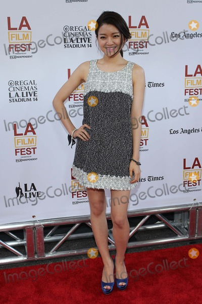Ah-sung Ko Photo - Ah-sung Ko attends Laff - Opening Night Premiere of Snowpiercer on June 11th 2014 at the Regal Cinemas LA Live in Los Angelescaliforniausa Phototleopold Globephotos
