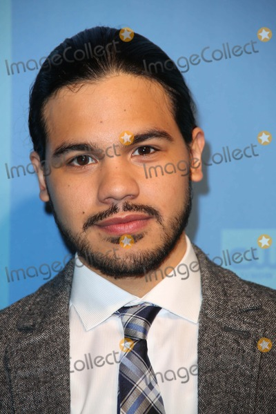 Carlos Valdes Photo - Cw Upfront Presentation 2014 Red Carpet Arrivals the London Hotel Alley NYC May 15 2014 Photos by Sonia Moskowitz Globe Photos Inc 2014 Carlos Valdes