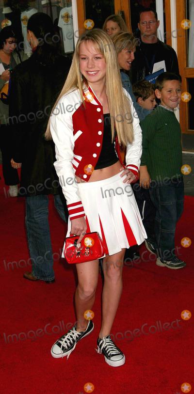 Brie Larson Photo - the Cat in the Hat World Premiere Universal Studios Cinema Hollywood CA 11082003 Photo by Ed Geller  Egi  Globe Photos Inc 2003 Brie Larson