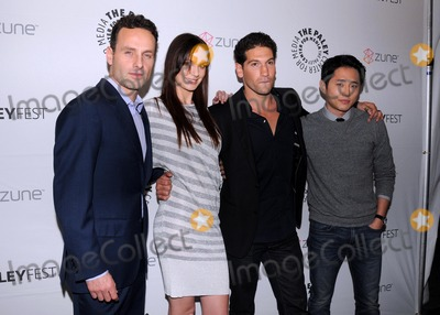 Andrew Lincoln Photo - Paleyfest 2011 -- the Walking Dead at the Saban Theatre in Beverly Hills CA 2011 3411 photo by Scott Kirkland-globe Photos  2011 Andrew Lincoln Sarah Wayne Callies Jon Bernthal Steven Yeun