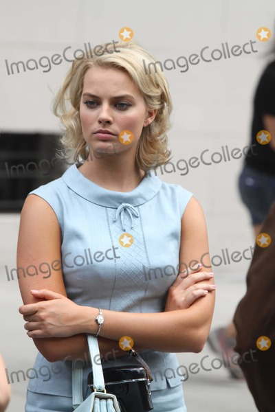 Margot Robbie Photo - Margot Robbie on the Set of Abc New Tv Show Pan Am on W158 St to Look Like Germany in 1960s 8-11-2011 Photo by John BarrettGlobe Photos Inc