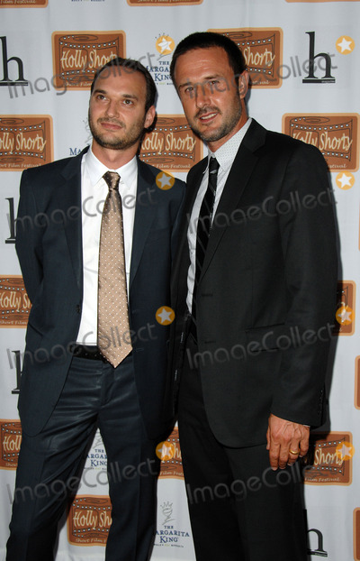 Jeff Vespa Photo - Hollyshorts Film Festival Opening Night at Egyptian Theatre in Hollywood CA 08-07-2008 Image Jeff Vespa and David Arquette Photo James Diddick  Globe Photos