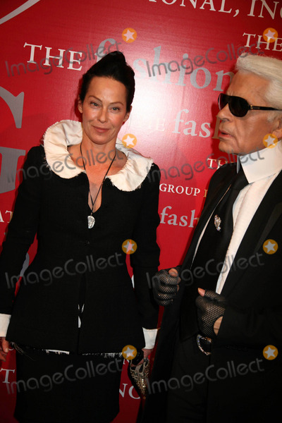 Alchemist Photo - The Fashion Group International Presents the 25th Annual Night of Stars Honoring the Alchemists Cipriani Wall St NYC October 23 08 Photos by Sonia Moskowitz Globe Photos Inc 2008 Karl Lagerfeld and Lady Amanda Harlech