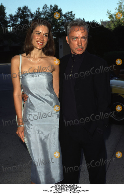 Saturn Awards Photo - 26th Saturn Awards at the Park Hyatt Hotel in LA Udo Kier  Date Nadia Photo by Fitzroy BarrettGlobe Photos Inc 6-6-2000