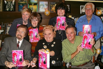 Alison Arngrim Photo - K32079MR -ROSIE MARIE BOOKSTORE APPEARANCE SIGNING HER NEW MEMOIR - HOLD THE ROSES - BARNES AND NOBLE ENCINO CA -08052003  - PHOTO BY MILAN RYBA  GLOBE PHOTOS INC  2003 - (TOP L-R) ALISON ARNGRIM MARGARET OBRIEN JOANNE WORLEY JOHN REICH GARY OWENS ROSIE MARIE AND PETER MARSHALL
