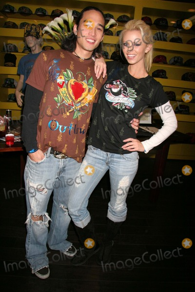 Aubrie Lemon Photo - Christian Audigier Holiday Party Christian Audigier Store Los Angeles CA 12-11-2006 Aubrie Lemon and Boyfriend Kevin Swanson Photo Clinton H Wallace-photomundo-Globe Photos Inc
