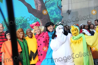 Al Roker Photo - Tamron Hall AL Roker Savannah Guthrie Matt Lauer Hoda Kotb Kathie Lee Gifford Take Part in Today Show Spooktacular Costume Party Rockefeller Center NYC October 30 2015 Photos by Sonia Moskowitz Globe Photos Inc