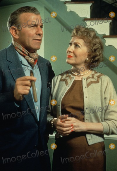 Gracie Allen Photo - George Burns with Gracie Allen 1990 Photo by Don Ornitz-Globe Photos Inc