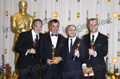 Andrew Lockley Photo - Paul Franklin Chris Corbould Andrew Lockley Peter Bebb Visual Effects Specialists the 83rd Annual Academy Awards (Press Room) Held at the Kodak Theatrelos Angelesca02-27-2011 photo by Kurt Krieger-allstar-globe Photos Inc