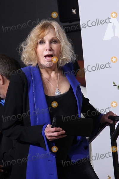 Kim Novak Photo - Kim Novak Poses in the Press Room During the Oscars at Loews Hollywood Hotel on March 2nd 2014 Hollywood Californiausa PhototloweGlobephotos