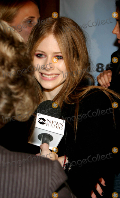 Avril Lavigne Photo - Avril Lavignes My World Concert Dvd Premiere at the Amc Empire 25 Theatre  New York City 10032003 Photo by Rick Mackler  Rangefinders  Globe Photosinc Avril Lavigne