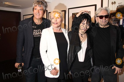 Clem Burke Photo - Chris Stein Photo Exhibition Hell in the City of Angels Opening Night Party Morrison Hotel Gallerysunset Marquis Hotel West Hollywood CA 08092013 Clement Clem Burke Debborah Harry Joan Jett and Chris Stein Photo Clinton H Wallace-photomundo-Globe Photos Inc