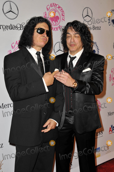 Paul Stanley Photo - Gene Simmons Paul Stanley attending the 26th Annual Carousal of Hope Gala Held at the Beverly Hilton Hotel in Beverly Hills California on October 20 2012 Photo by D Long- Globe Photos Inc