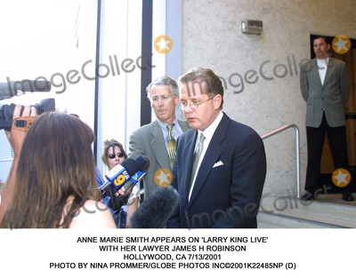 Anne Marie Photo - Anne Marie Smith Appears on Larry King Live with Her Lawyer James H Robinson Hollywood CA 7132001 Photo by Nina PrommerGlobe Photos Inc2001k22485np (D)