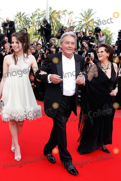 Anouchka Delon Photo - Alain and Anouchka Delon Claudia Cardinale Wall Street Money Never Sleeps Premiere 63rd Annual Cannes Film Festival Palais Des Festivals in Cannes  France 05-14-2010 Photo by Roger Harvey-Globe Photos Inc 2010