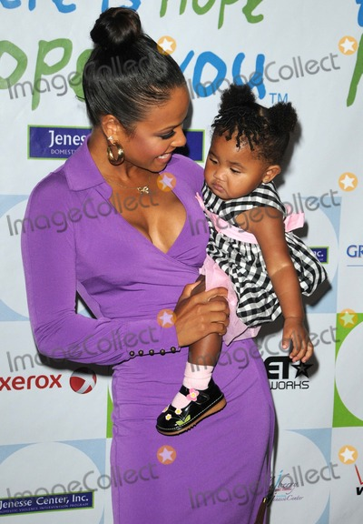 CHRISTINA MILAN Photo - Christina Milandaughter attending the 31st Annual Silver Rose Gala  Auction Held at the Beverly Hills Hotel in Beverly Hills California on 41711 Photo by D Long- Globe Photos Inc