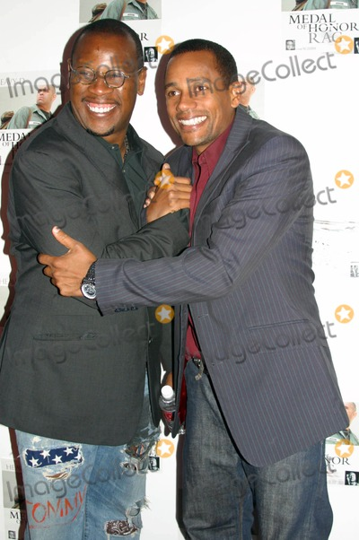 Andre Harrell Photo - Medal of Honor Rag Starring Veteran Rapperactor Heavy D- Special Vip Performance (Arrivals) Egyptian Arena Theatre Hollywood CA 06-27-2005 Photo ClintonhwallaceipolGlobe Photos Inc Hill Harper and Andre Harrell