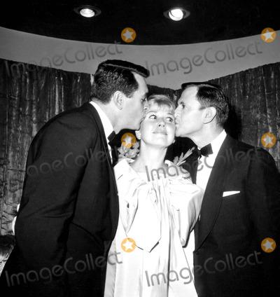 Rock Hudson Photo - Rock Hudson Doris Day and Tony Randall c519-4a Globe Photos Inc Tonyrandallretro