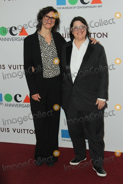 Catherine Opie Photo - Julie Burleigh Catherine Opie Attend Mocas 35th Anniversary Gala Presented by Louis Vuitton Held at the Geffen Contemporary at Moca on March 29th 2014 Los Angelescaliforniausa Phototleopold Globephotos