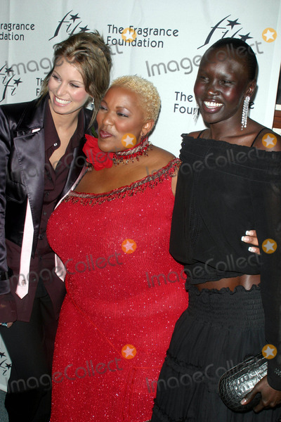 Alex Wek Photo - Sd0609 Fragrance Foundations 31st Annual -Fifi- Awards Avery Fisher Hall Lincoln Center New York City Photojohn Barrett  Globe Photos Inc 2003 Niki Taylor Frenchie Davis Alex Wek