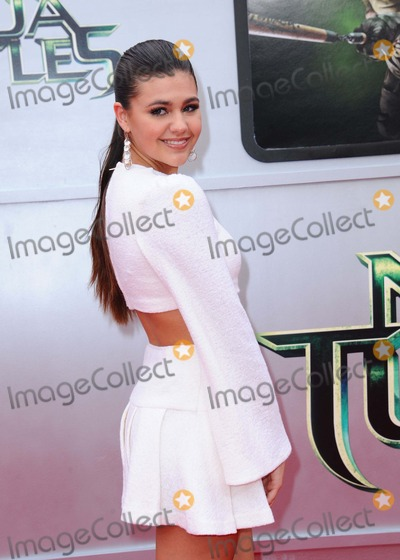 Amber Montana Photo - Amber Montana attending the Los Angeles Premiere of Teenage Mutant Ninja Turtles Held at the Regency Village Theater in Westwood California on August 3 2014 Photo by D Long- Globe Photos Inc