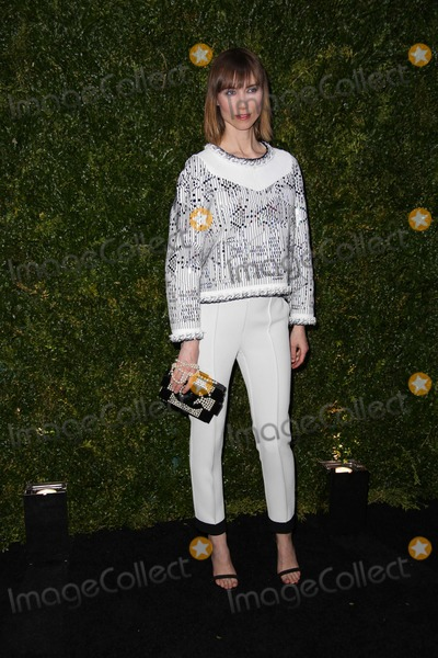 Anya Ziourova Photo - Chanel Hosts the Ninth Annual Tribeca Film Festival Artists Dinner Balthazar Restaurant NYC April 22 2014 Photos by Sonia Moskowitz Globe Photos Inc 2014 Anya Ziourova