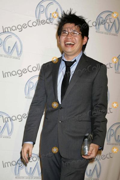 Steve Chen Photo - 19th Annual Producers Guild Awards - Pressroom Beverly Hilton Hotel Beverly Hills CA 020208 Steve Chen - Youtube Co-founder Photo Clinton H Wallace-photomundo-Globe Photos Inc