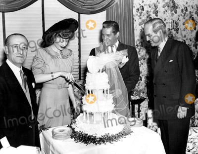 Desi Arnaz Photo - Lucille Ball and Desi Arnazs Wedding Day Supplied by Globe Photos Inc