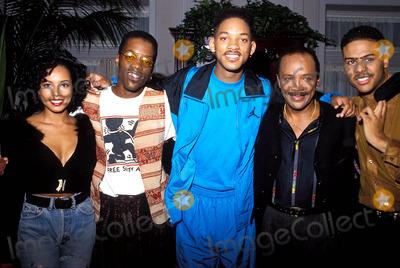 Al B Sure Photo - Tyler Collins Kadeem Hardison Will Smith Quincy Jones and AL B Sure Photo Bob Noble-Globe Photos Inc Quincyjonesretro