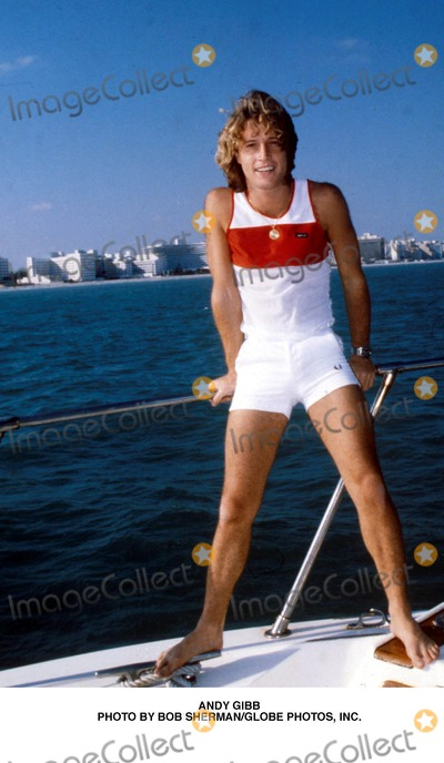 Andy Gibb Photo - Andy Gibb Photo by Bob ShermanGlobe Photos Inc
