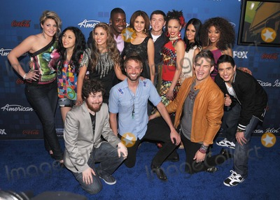 Ashthon Jones Photo - American Idol Finalists Party at The Grove in Los Angeles CA 30311  Photo by James Diddick-Globe Photos  2011AMERICAN IDOL FINALISTS (Back Row) LAUREN ALAINA THIA MEGIA HALEY REINHART JACOB LUSK KAREN RODRIGUEZ SCOTTY MCCREERY NAIMA ADEDAPO PIA TOSCANO ASHTHON JONES (Front Row) CASEY ABRAMS PAUL MCDONALD JAMES DURBIN STEFANO LANGONEK67740JDI