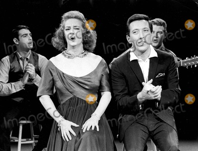 Andy Williams Photo - Bette Davis with Andy Williams on Christmas Show Photo by Gilloon Photo-Globe Photos Inc