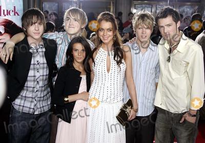 Aliana Lohan Photo - Just My Luck Premiere Westwood CA 05-09-2006 Photo Allstar-Globe Photos Inc 2006 Mcfly Lindsay Lohan Aliana Lohan