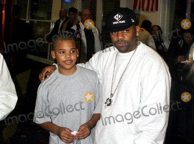 Damon Dash Photo - Knick Bowl 5 Presented by Rocawears Team Roc to Benefit Red Holzman Knicks Cheering For Children Foundation at Chelsea Piers  New York City 03312004 Photo by Rick MacklerrangefinderGlobe Photosinc Damon Dash_son