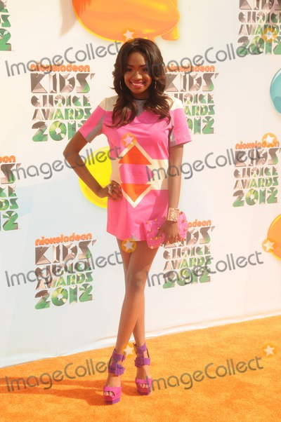 Kayla Brianna Photo - Kayla Brianna attending the Nickelodeons 25th Annual Kids Choice Awards Held at the Usc Galen Center in Los Angeles California on 33112 Photo by D Long- Globe Photos Inc